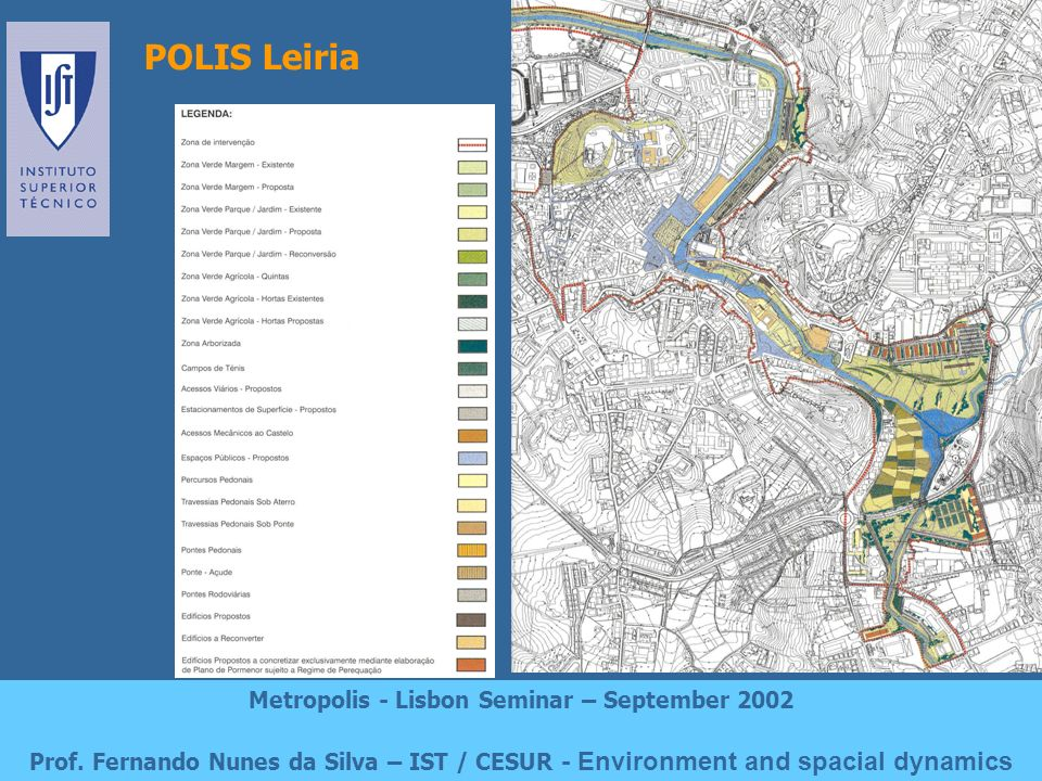 The MST Light Rail Project Metropolis - Lisbon Seminar – September 2002 Prof.