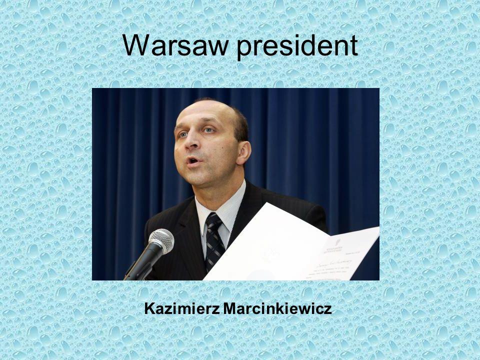 Warsaw president Kazimierz Marcinkiewicz