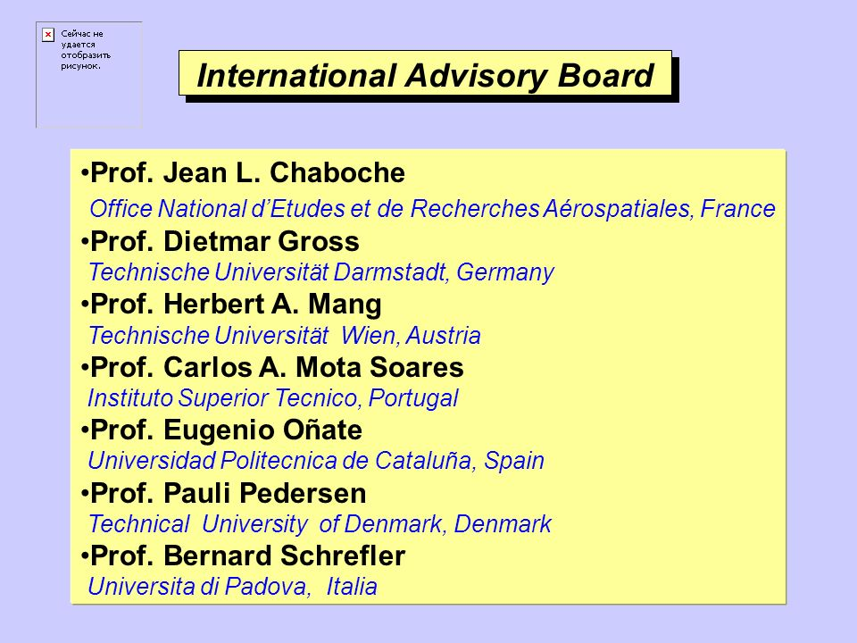 International Advisory Board Prof. Jean L.