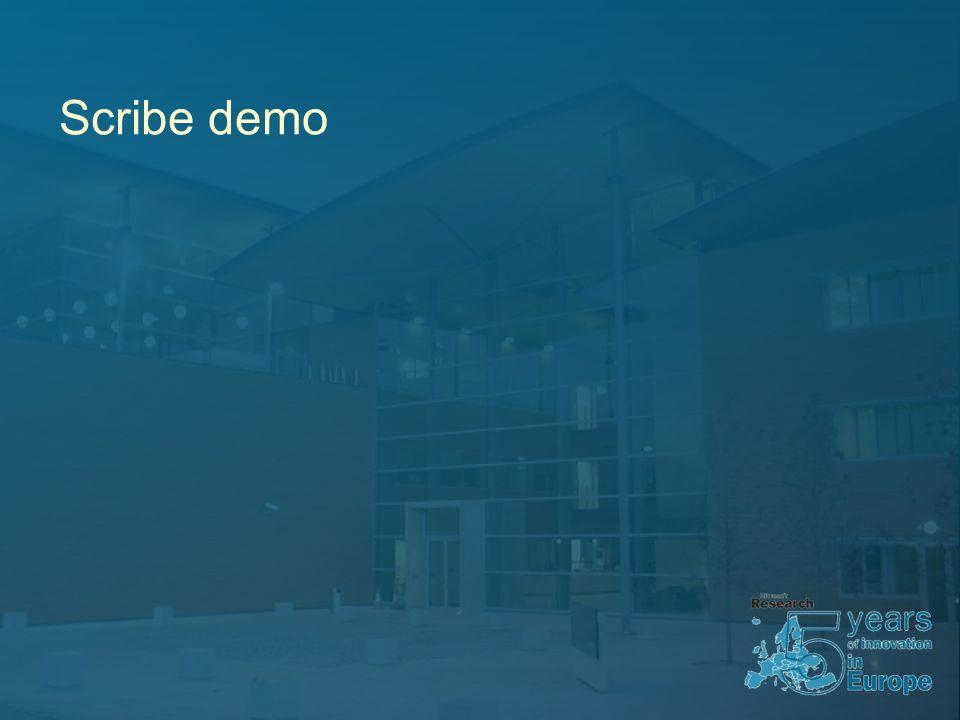 Scribe demo