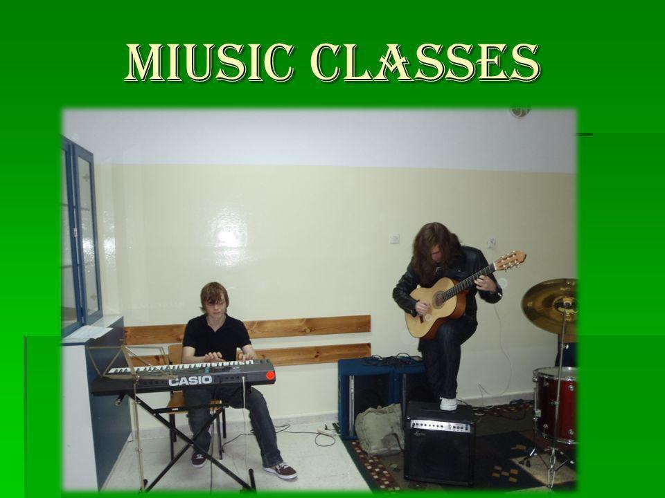 MIUSIC CLASSES