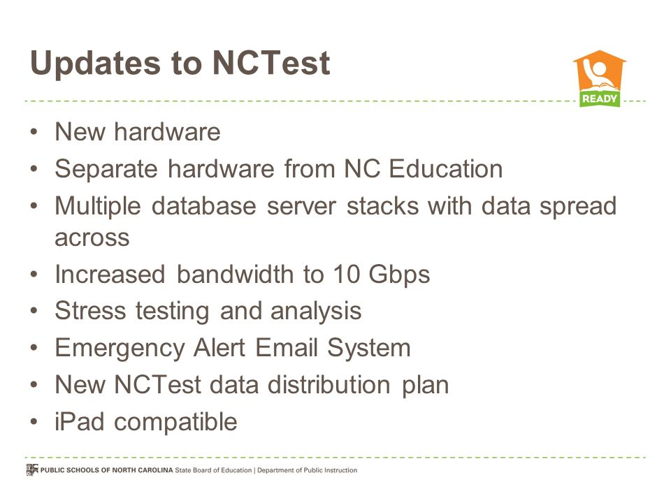 Test Materials Ordering Paper-and- pencil materials only Estimated Need is course enrollment plus 10%