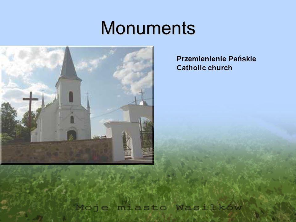 Monuments Przemienienie Pańskie Catholic church