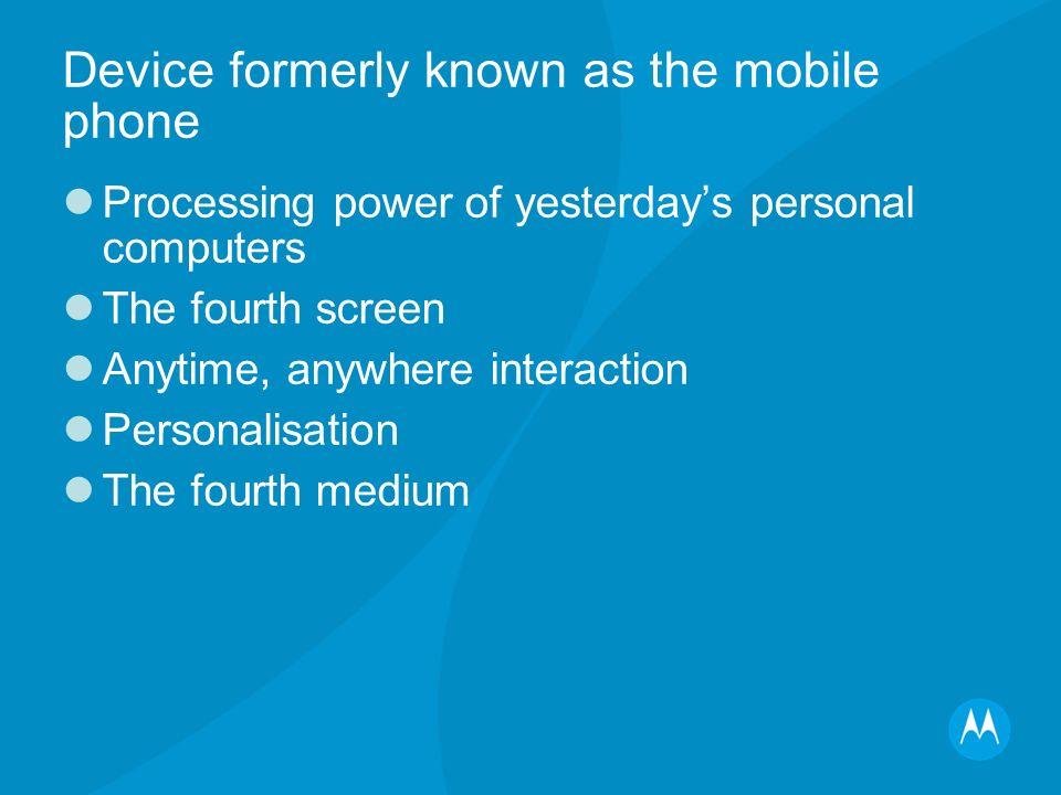 Everything=Digits Everywhere=Intelligence Everyone=Broadband Experience=Mobile Portal
