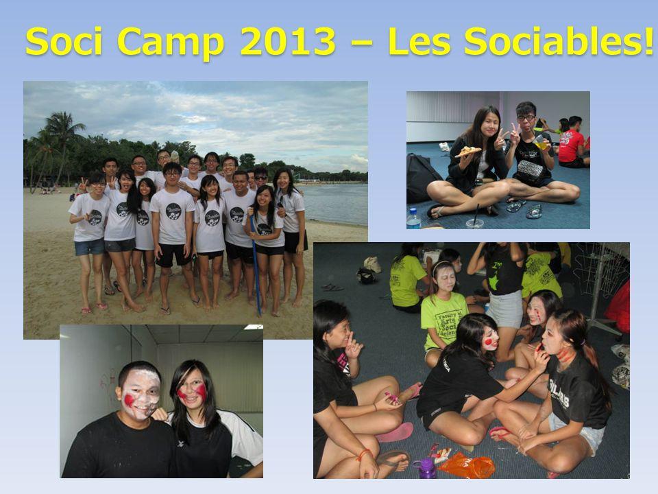 Soci Camp 2013 – Les Sociables! Soci Camp 2013 – Les Sociables!