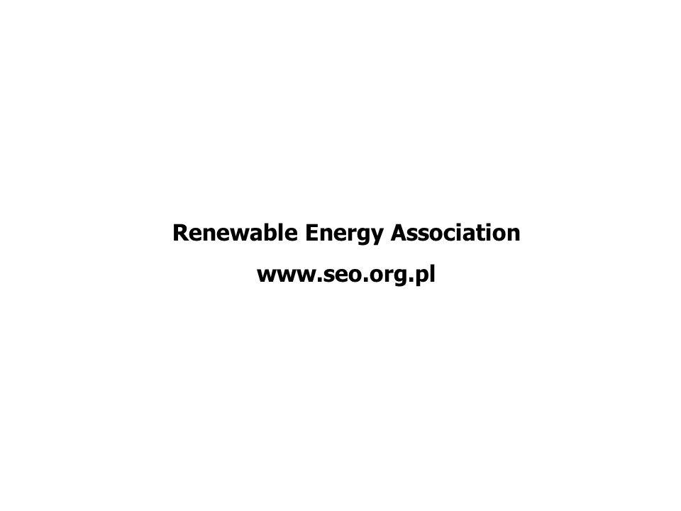 Renewable Energy Association www.seo.org.pl