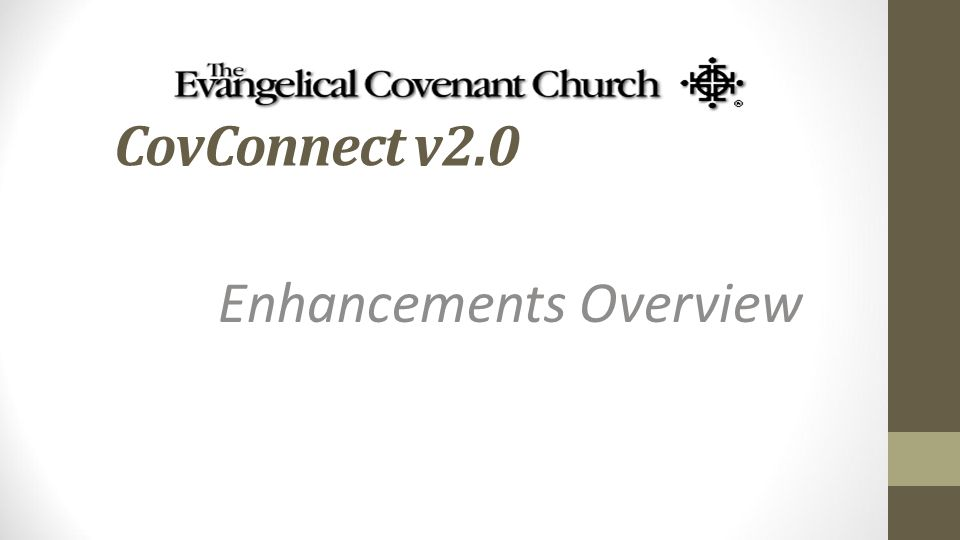CovConnect v2.0 Enhancements Overview
