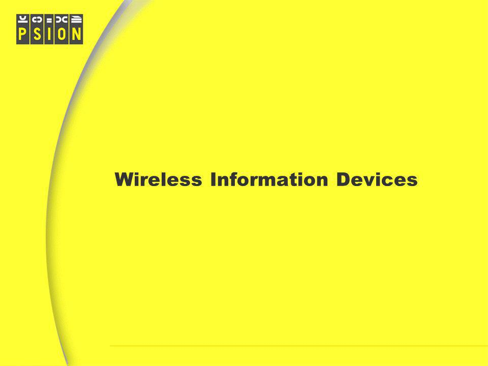 Wireless Information Devices