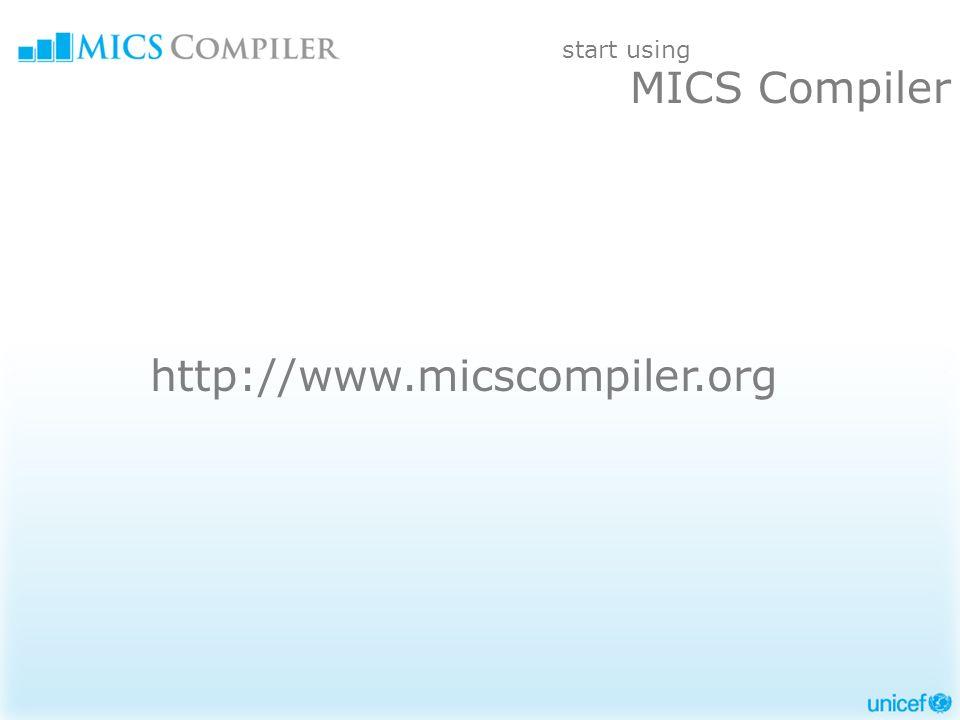 http://www.micscompiler.org start using MICS Compiler
