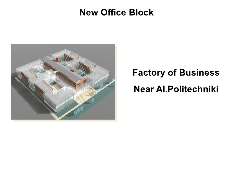 New Office Block Factory of Business Near Al.Politechniki