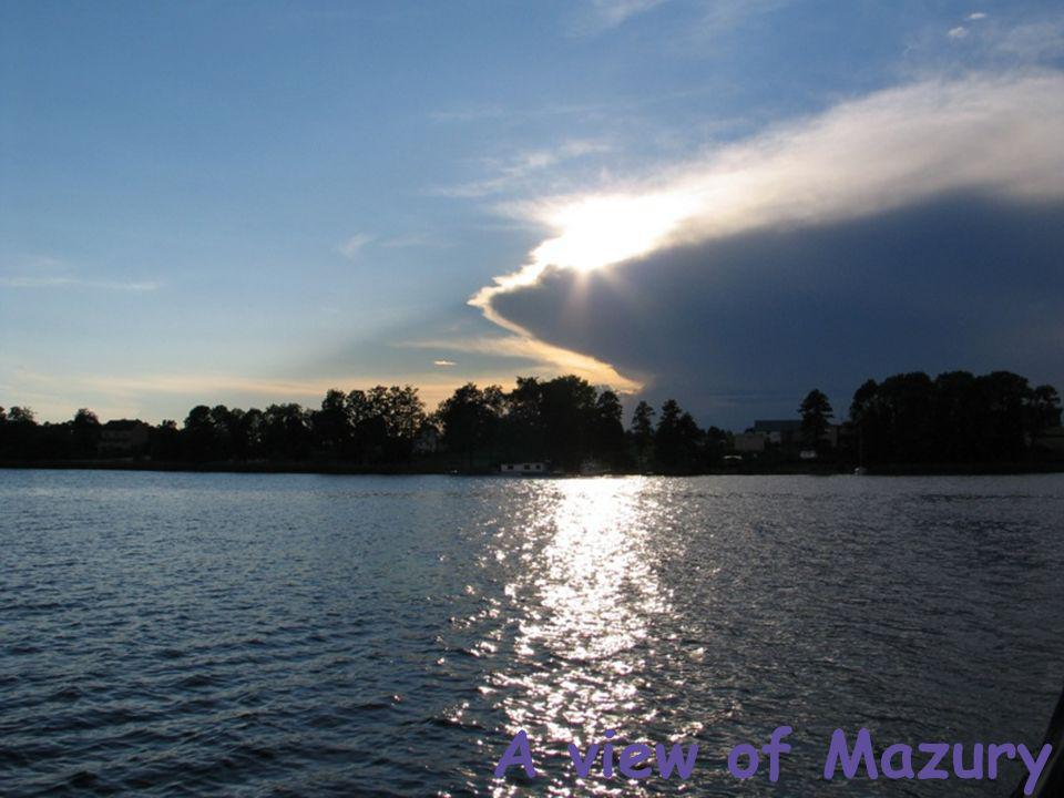 A view of Mazury