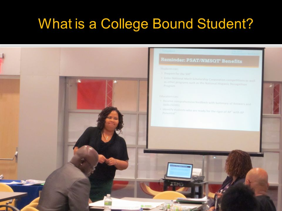 What is a College Bound Student?