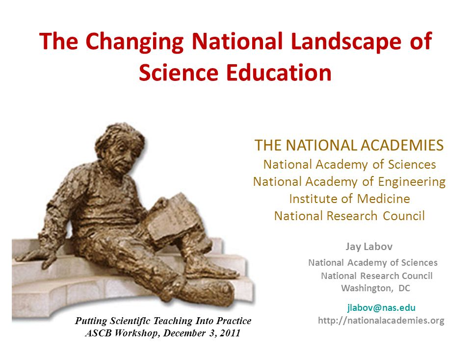12 A New Biology for the 21 st Century: Implications for Science Education The New Biology Initiative provides an opportunity to attract students to science who want to solve real-world problems.