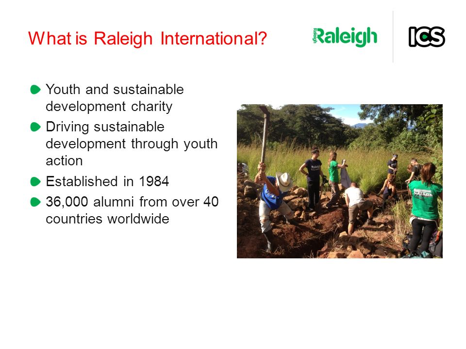 What is Raleigh International.