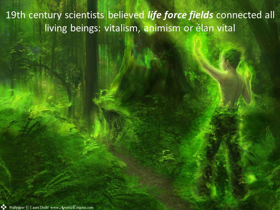 But reductionist science showed biomolecular origins for life