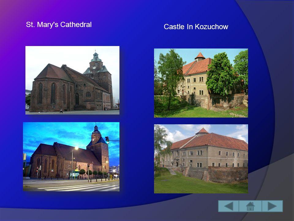 Capital City: Gorzów Wielkopolski Area: 13 987,88 km² Historical Monuments: -St.