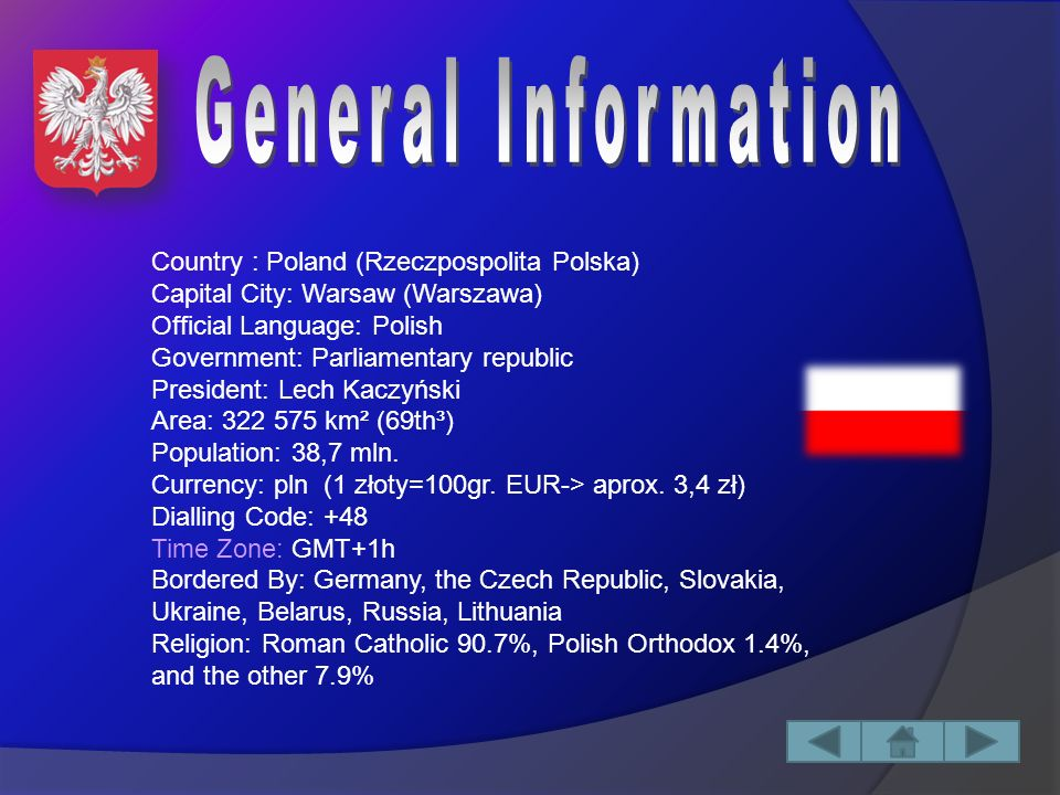 Content I.General InformationGeneral Information II.Administrative DivisionAdministrative Division Voivodeships 1.