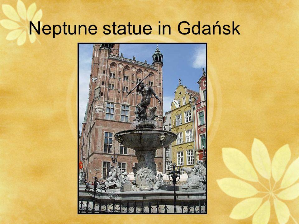 Neptune statue in Gdańsk