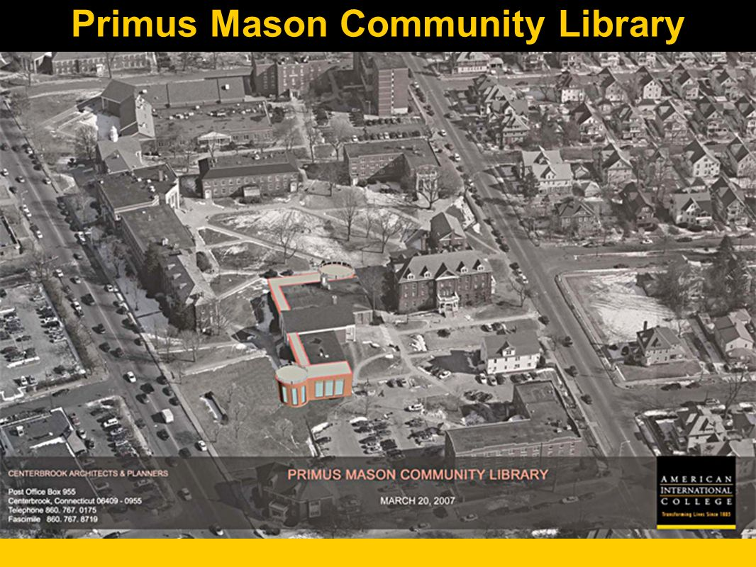 Primus Mason Community Library