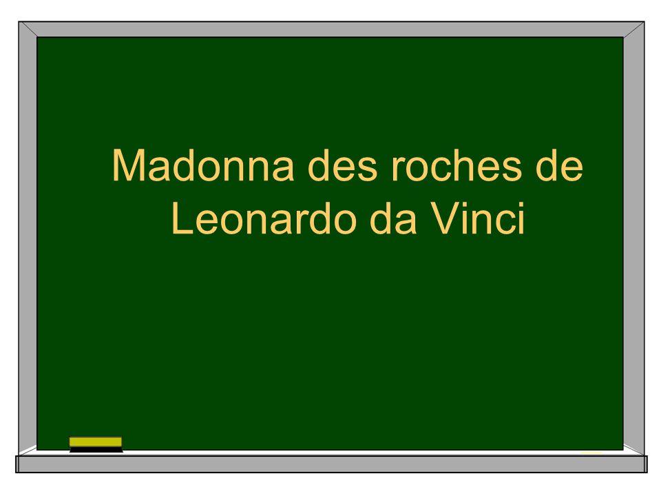 Madonna des roches de Leonardo da Vinci