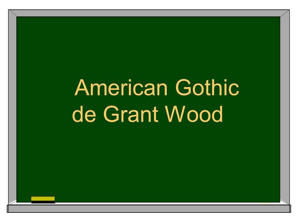 American Gothic de Grant Wood