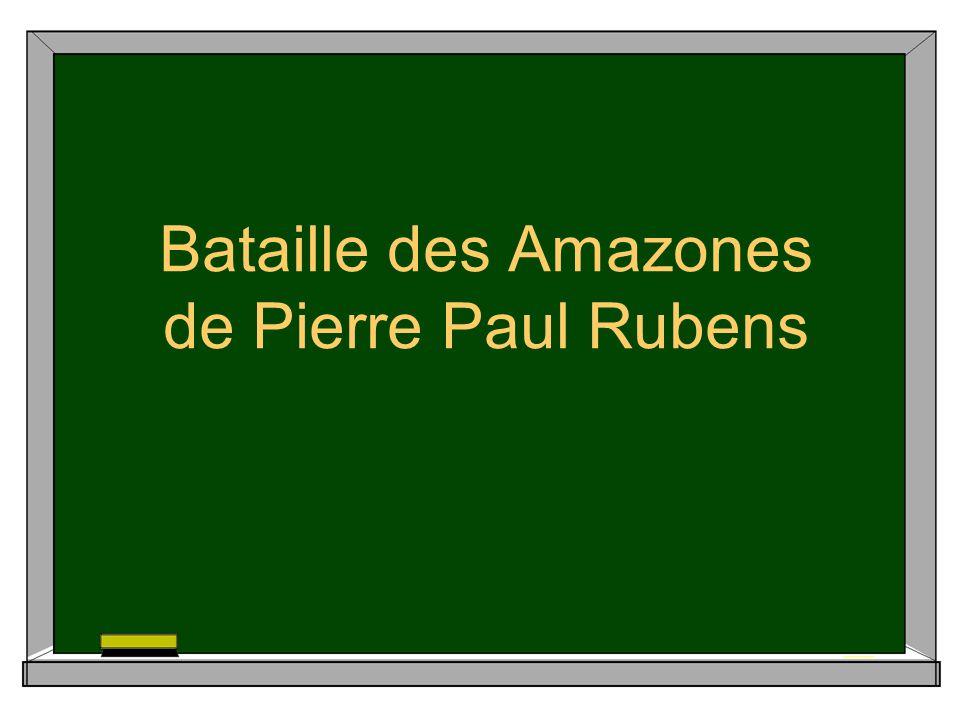 Bataille des Amazones de Pierre Paul Rubens