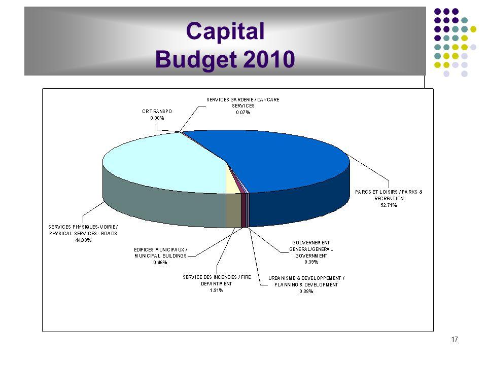 17 Capital Budget 2010
