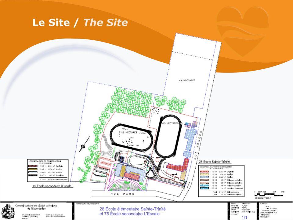 Le Site / The Site