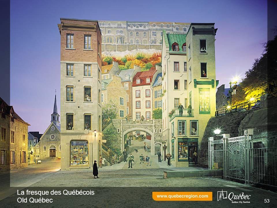 La fresque des Québécois Old Québec 53
