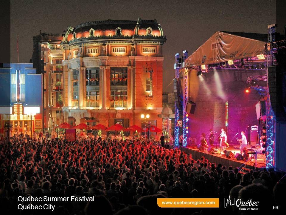 Québec Summer Festival Québec City 66