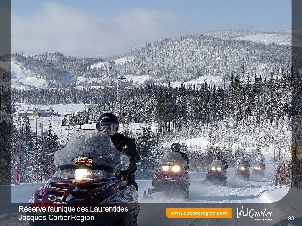 Réserve faunique des Laurentides Jacques-Cartier Region 93
