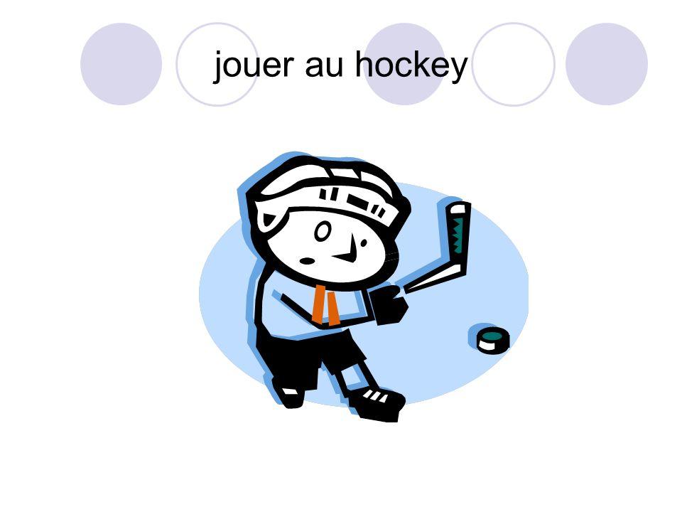 jouer au hockey