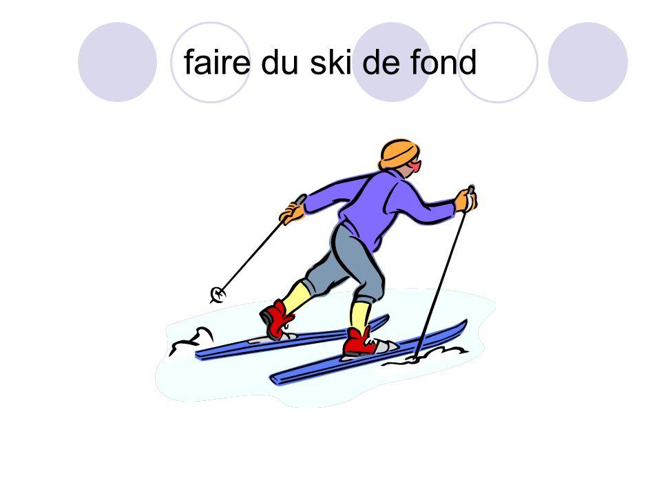 faire du ski de fond