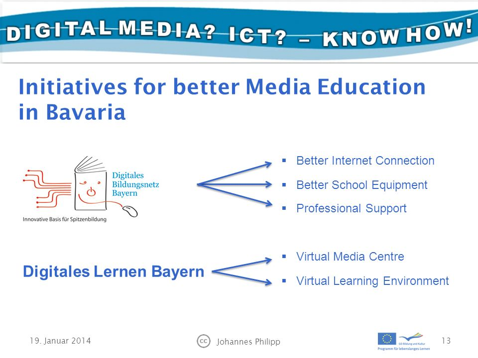 Initiatives for better Media Education in Bavaria 19.