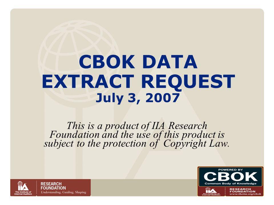 www.theiia.org/cbok Adequacy of Standard 1300 – Quality Affiliates