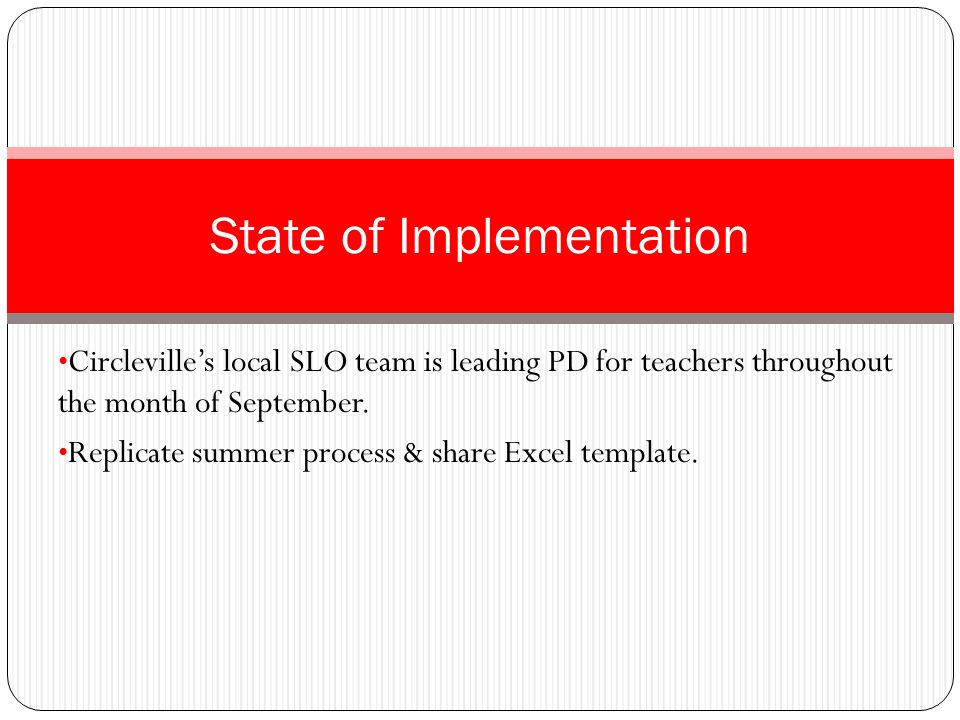Circleville teachers primary concern: Accountability.