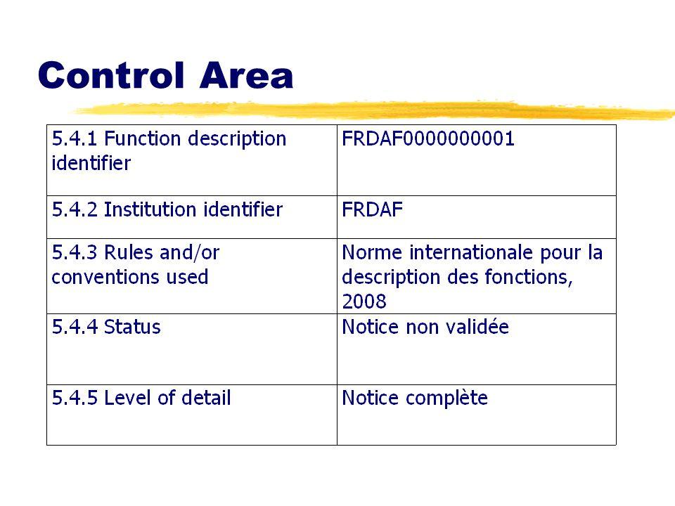 Control Area