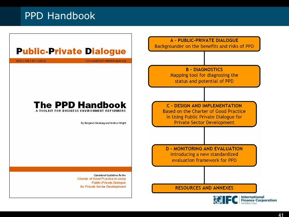 PPD Handbook 41
