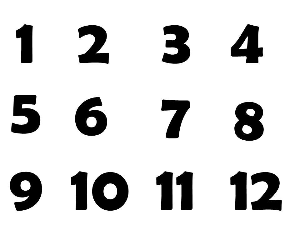 1234 5 6 7 8 9101112