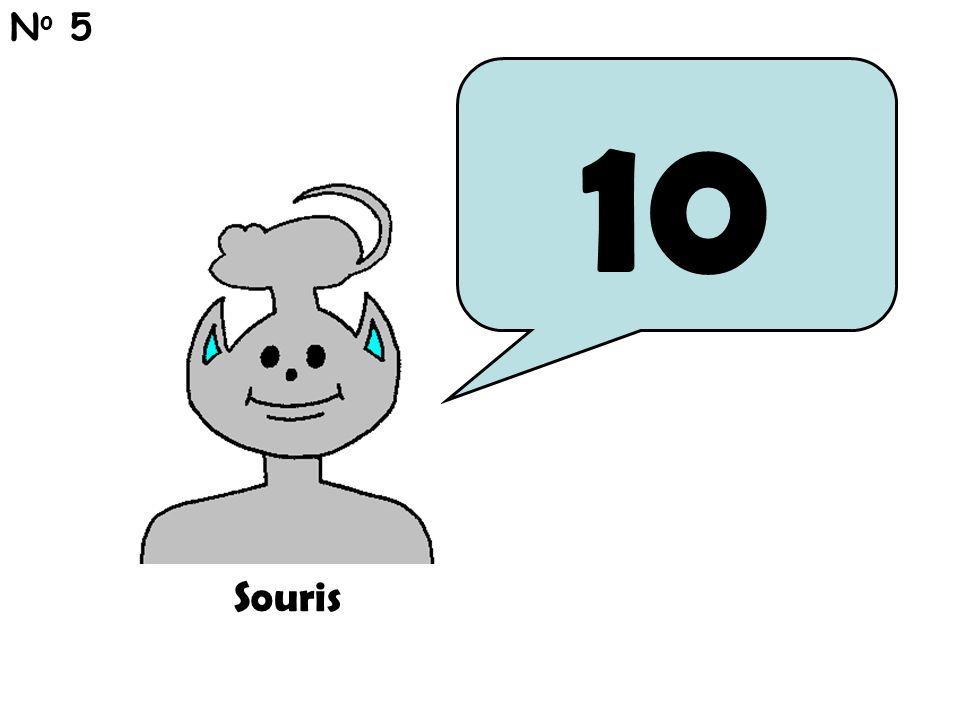 10 N o 5 Souris