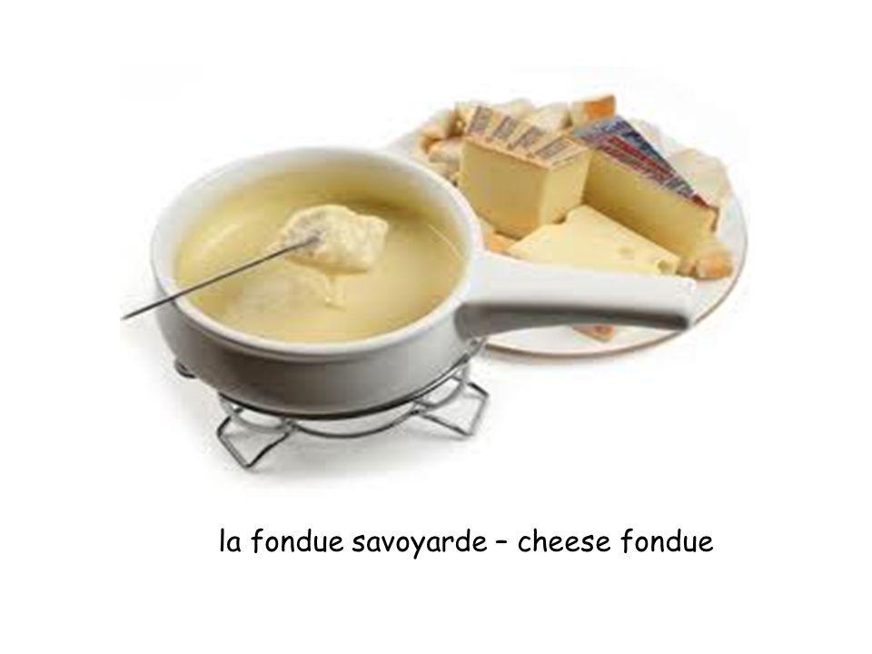 la fondue savoyarde – cheese fondue