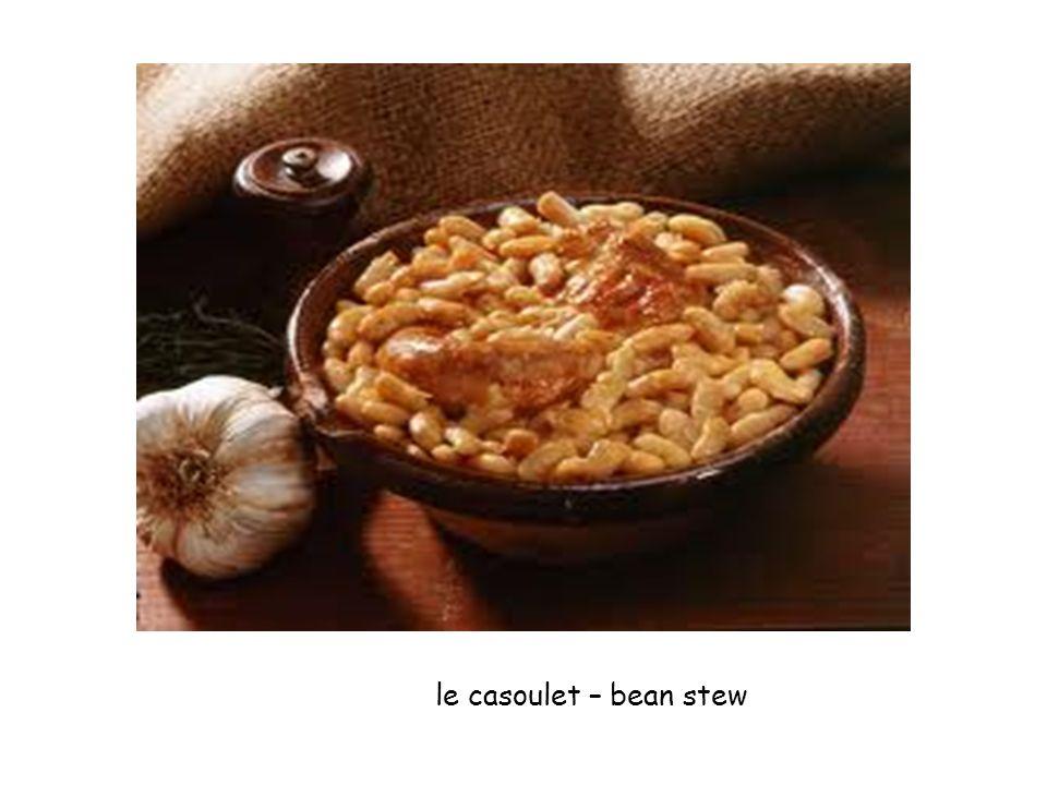 le casoulet – bean stew