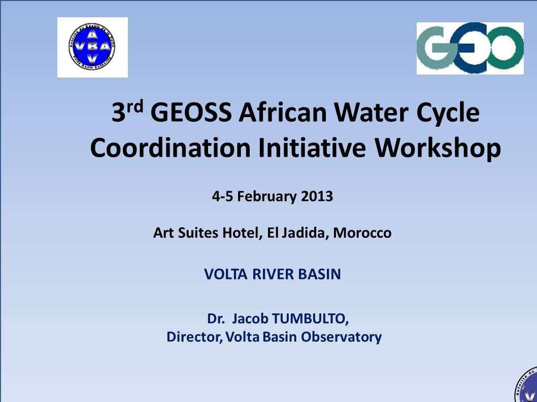 Autorité du Bassin de la Volta (ABV) Bénin, Burkina Faso, Côte dIvoire, Ghana, Mali, Togo Presentation Plan 1.