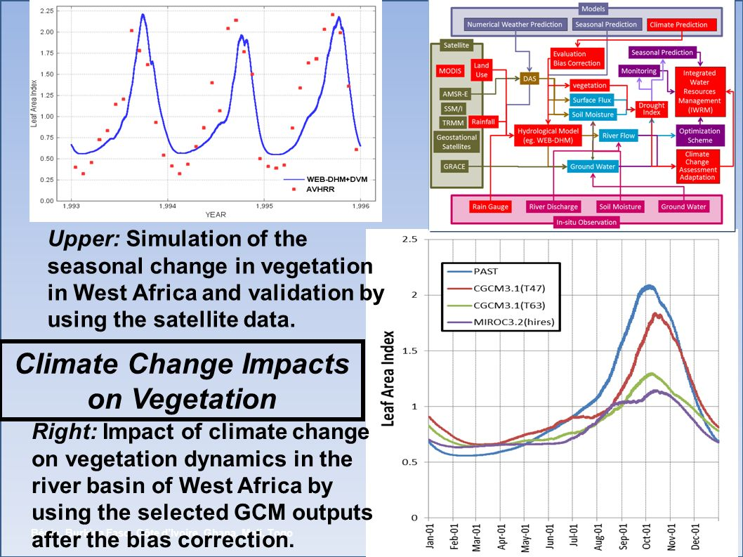 Autorité du Bassin de la Volta (ABV) Bénin, Burkina Faso, Côte dIvoire, Ghana, Mali, Togo Right: Impact of climate change on vegetation dynamics in th