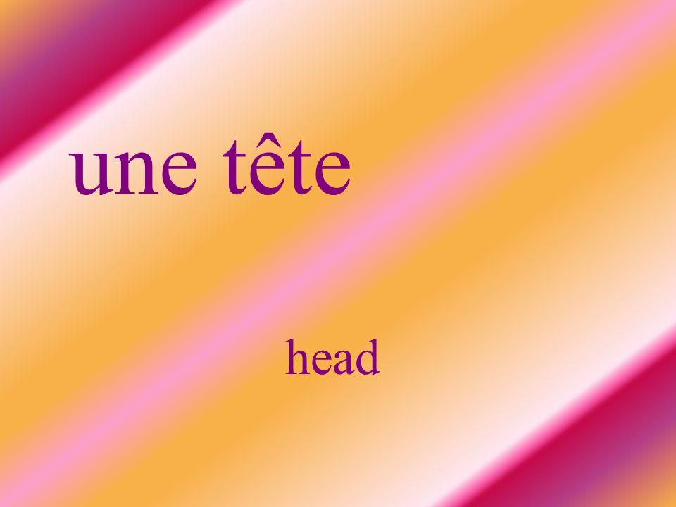 une tête head
