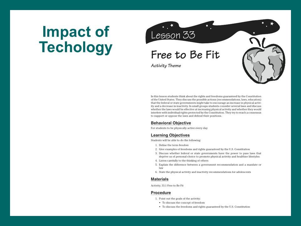 Impact of Techology