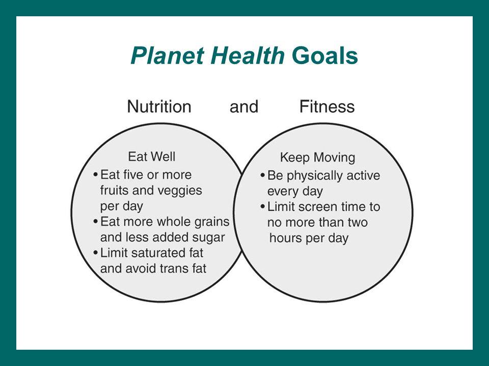 Planet Health Goals