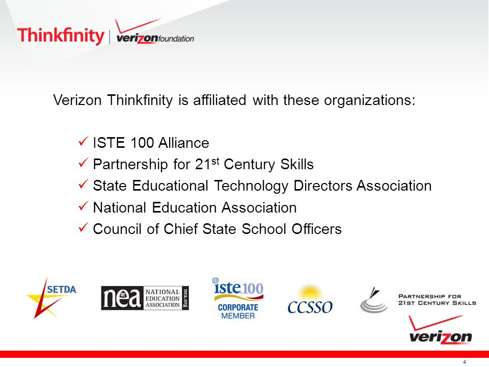 5 Thinkfinity Content Partners