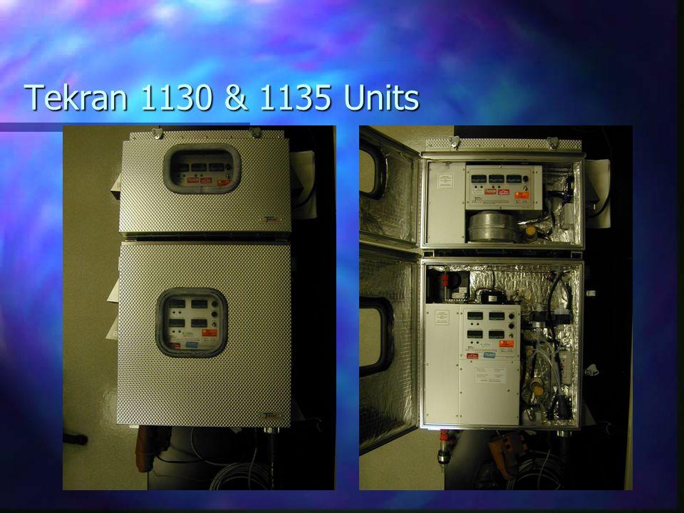 Tekran 1130 & 1135 Units