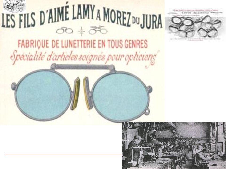 Publicité en 1910 Lunettes Léon Jeantet